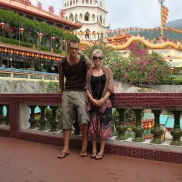 Kek Lok Si Temple & ruokajuttuja