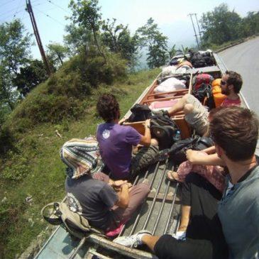 Nepal reppureissaajalle