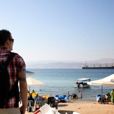 Aqaba, Jordania 12.1.2014
