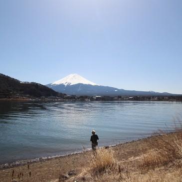 Kawaguchi-järvellä