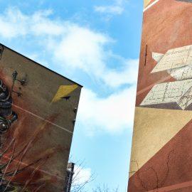 Katutaidetta Gdyniassa